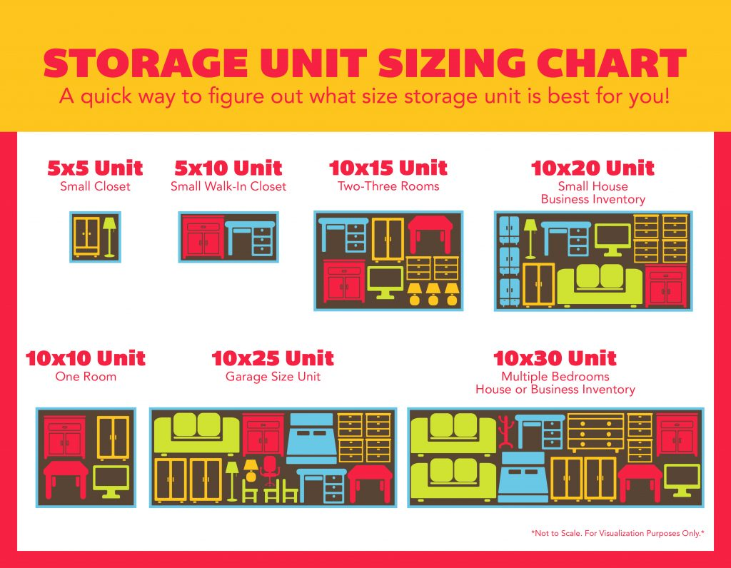 Size Guide: Small Storage Unit